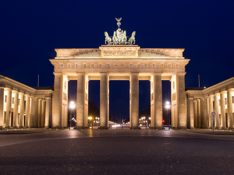 Niederlassung Johs. Martens in Berlin - Brandenburger Tor