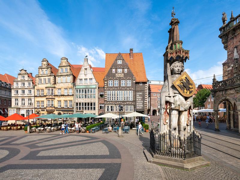 Niederlassung Johs. Martens in Bremen - Marktplatz