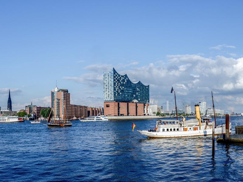 Niederlassung Johs. Martens in Hamburg - Hafen / Elbphilharmonie